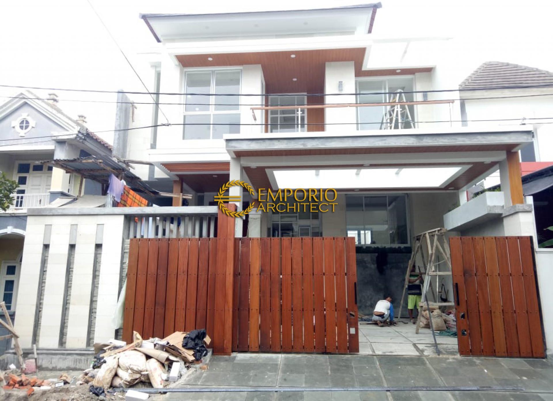 Construction Progress of Mr. Ngurah Indira Private House - Tangerang Selatan, Banten