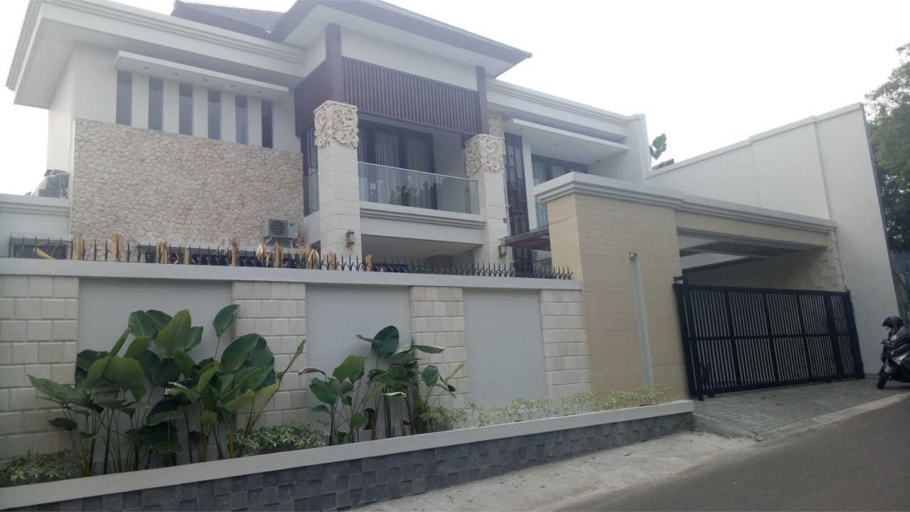 Construction Result of Mr. Faishal Private House - Bintaro, Jakarta Selatan