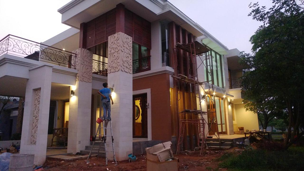 Construction Progress of Mrs. Imelda Private House - Jakarta