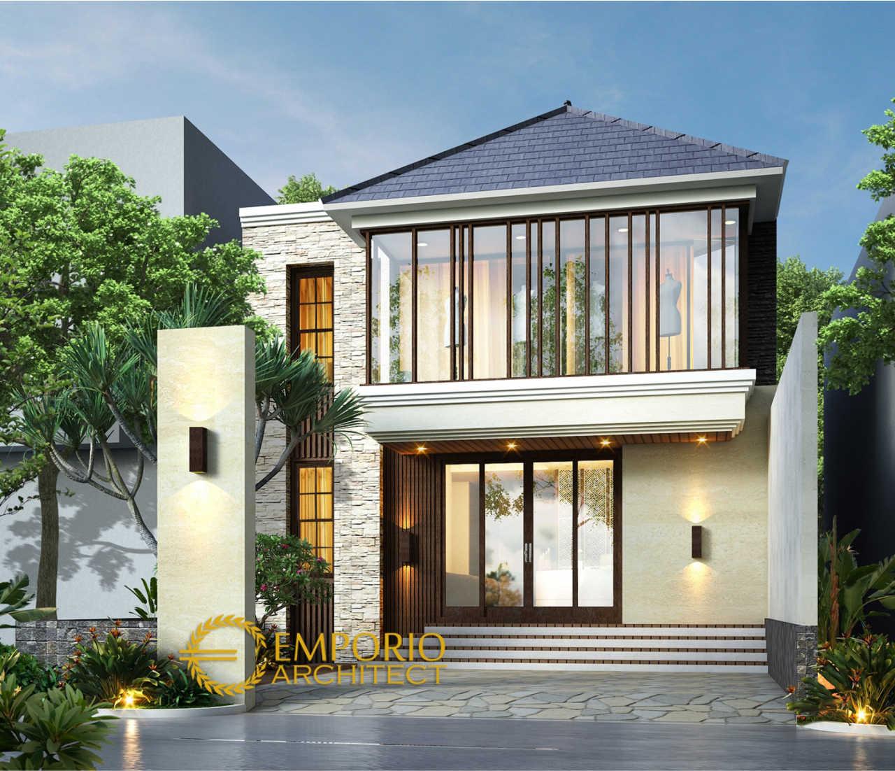 Arsitek Rumah Classic: Desain Butik Modern 2 Lantai Ibu Erna Di Bandung