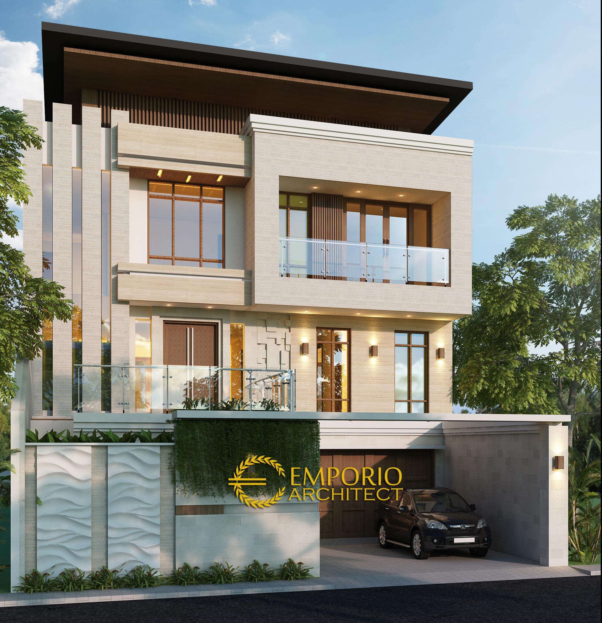 Desain Rumah Modern 2 5 Lantai Ibu Linda Di Bandung