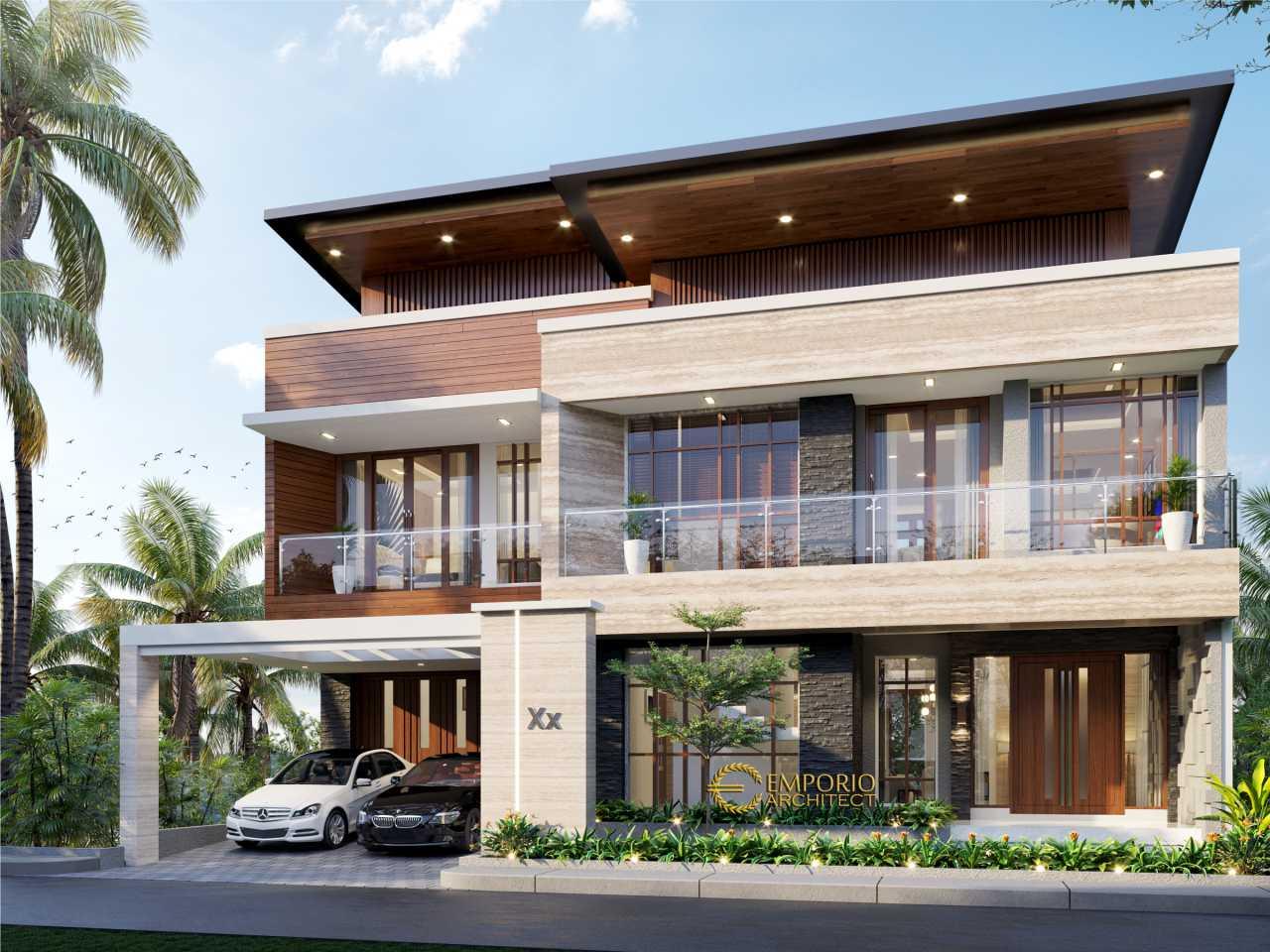 Desain Rumah Modern 3 Lantai Ibu Pauline Di Bandung Jawa Barat