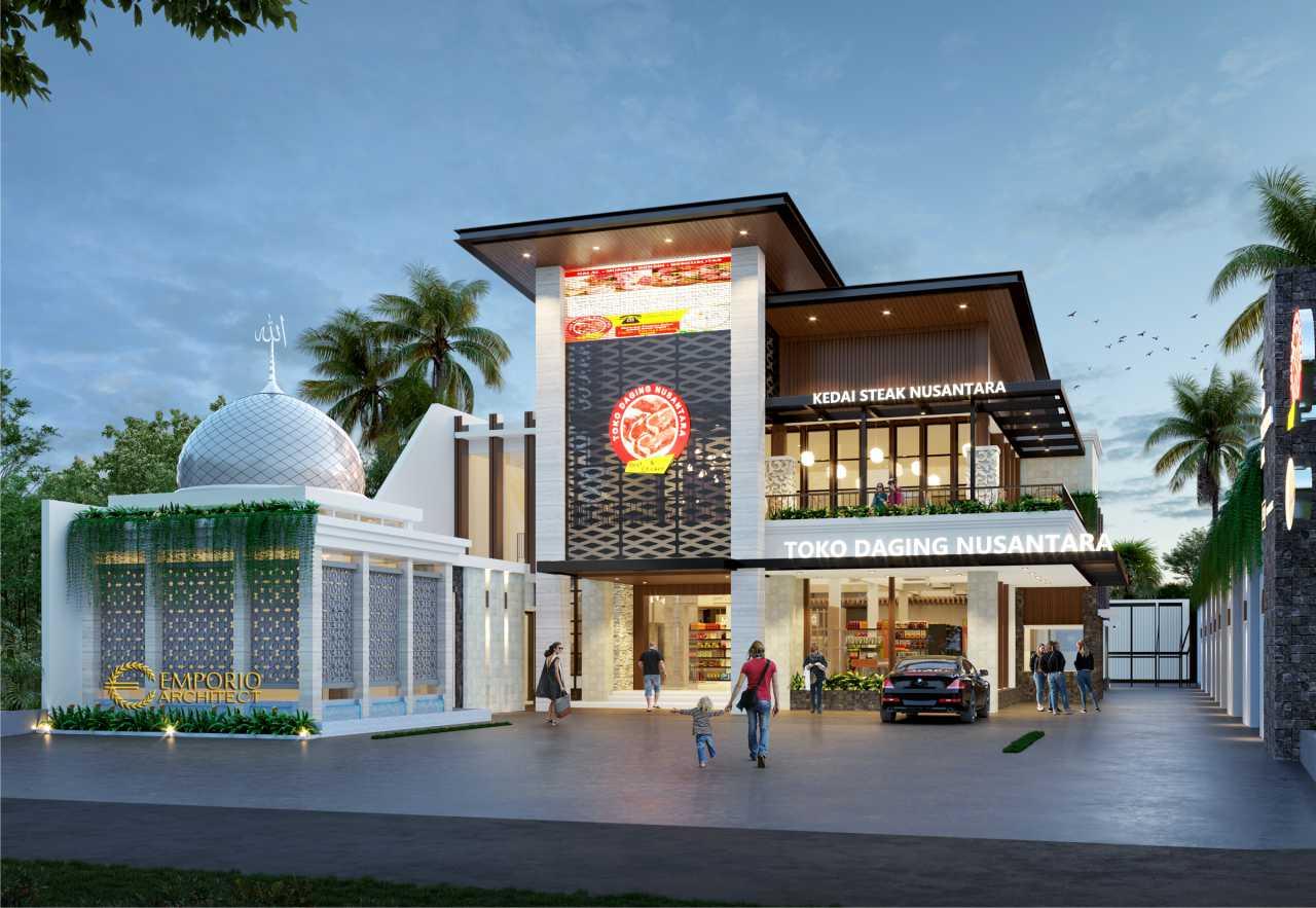 Toko Daging dan Kedai Steak Modern 2 Lantai Suri Nusantara