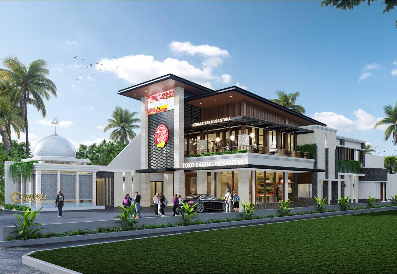 Jasa Arsitek Bekasi Jawa Barat Desain Toko Daging Kedai