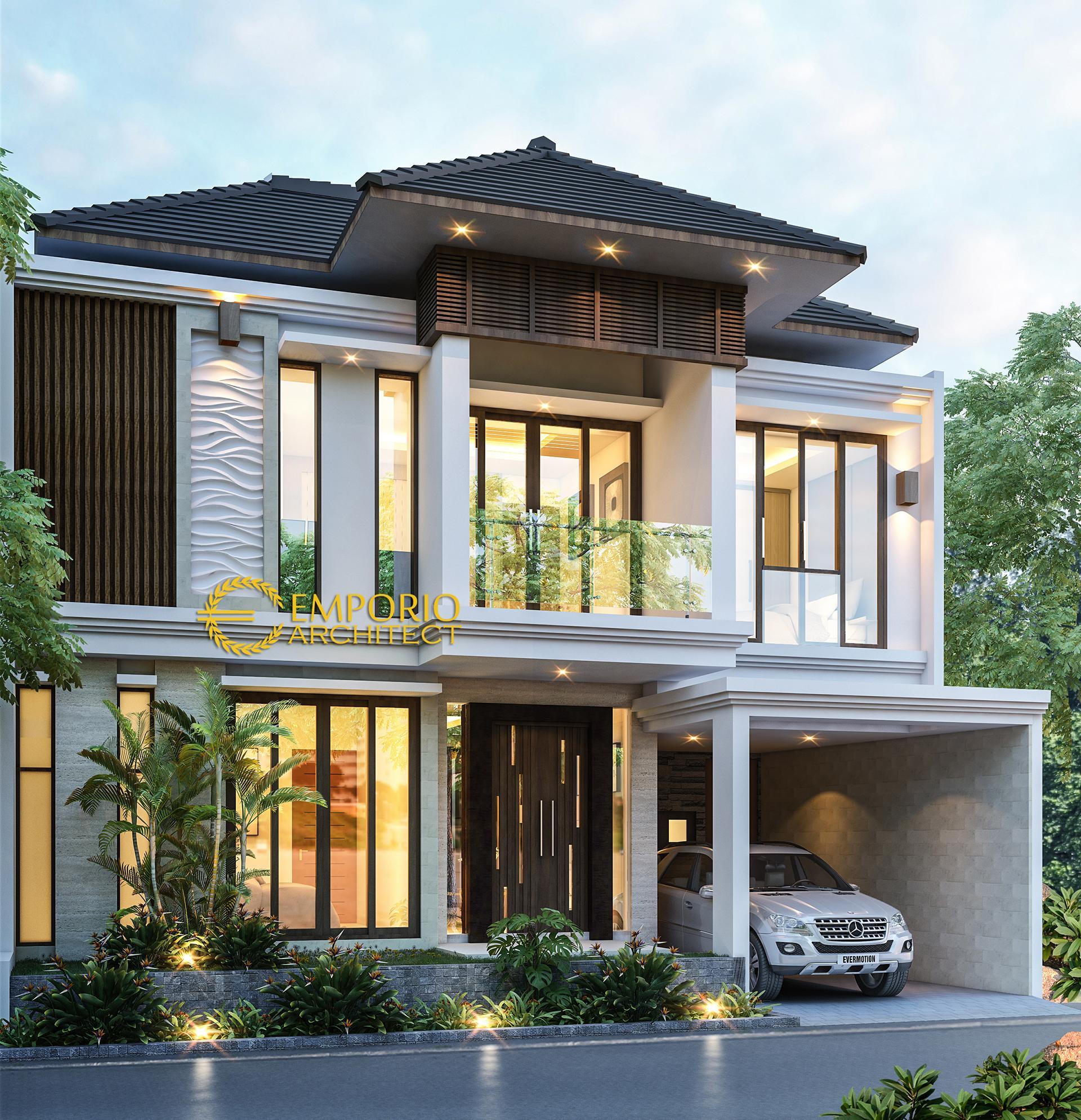 Mr. Rico Villa Bali House 2 Floors Design - Bogor