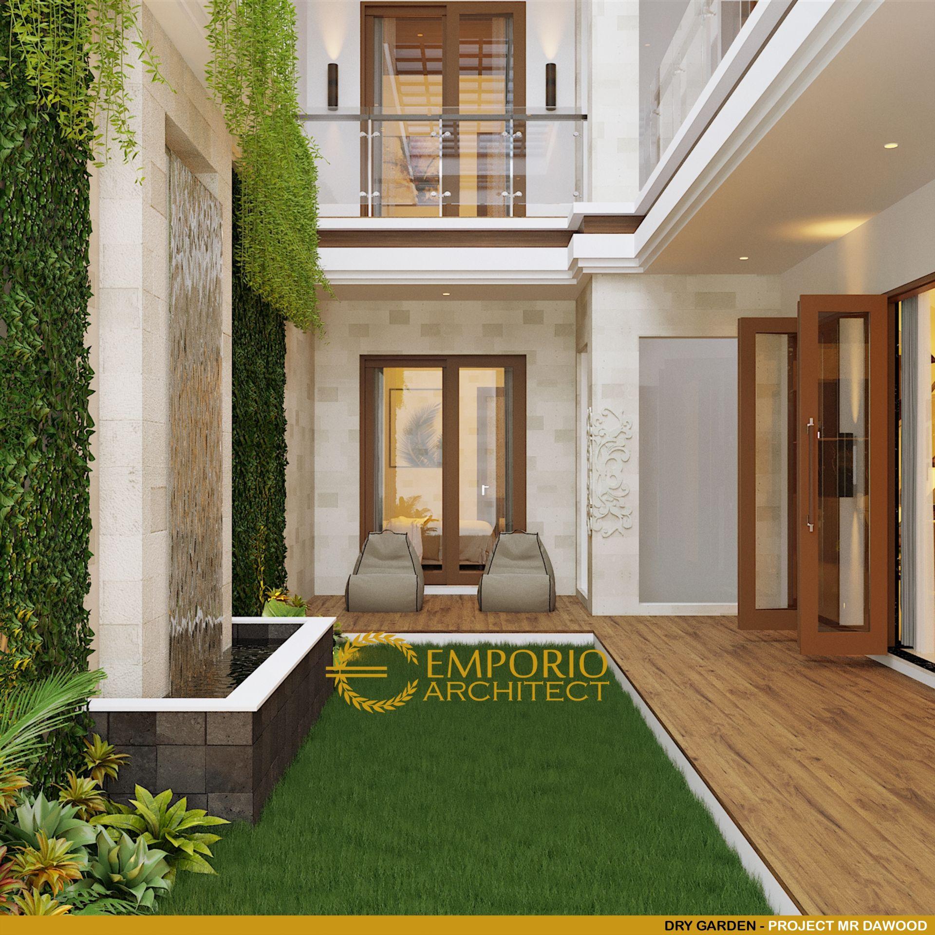 Desain Rumah Villa Bali 2 Lantai Mr. Dawood Di Brunei