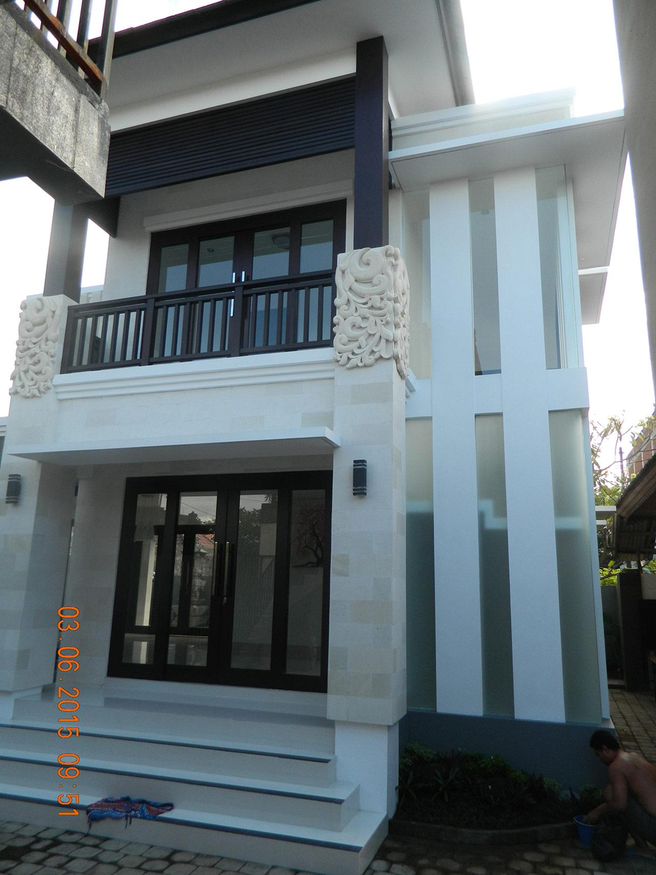 Hasil Konstruksi Rumah Bapak Agus di  Denpasar, Bali