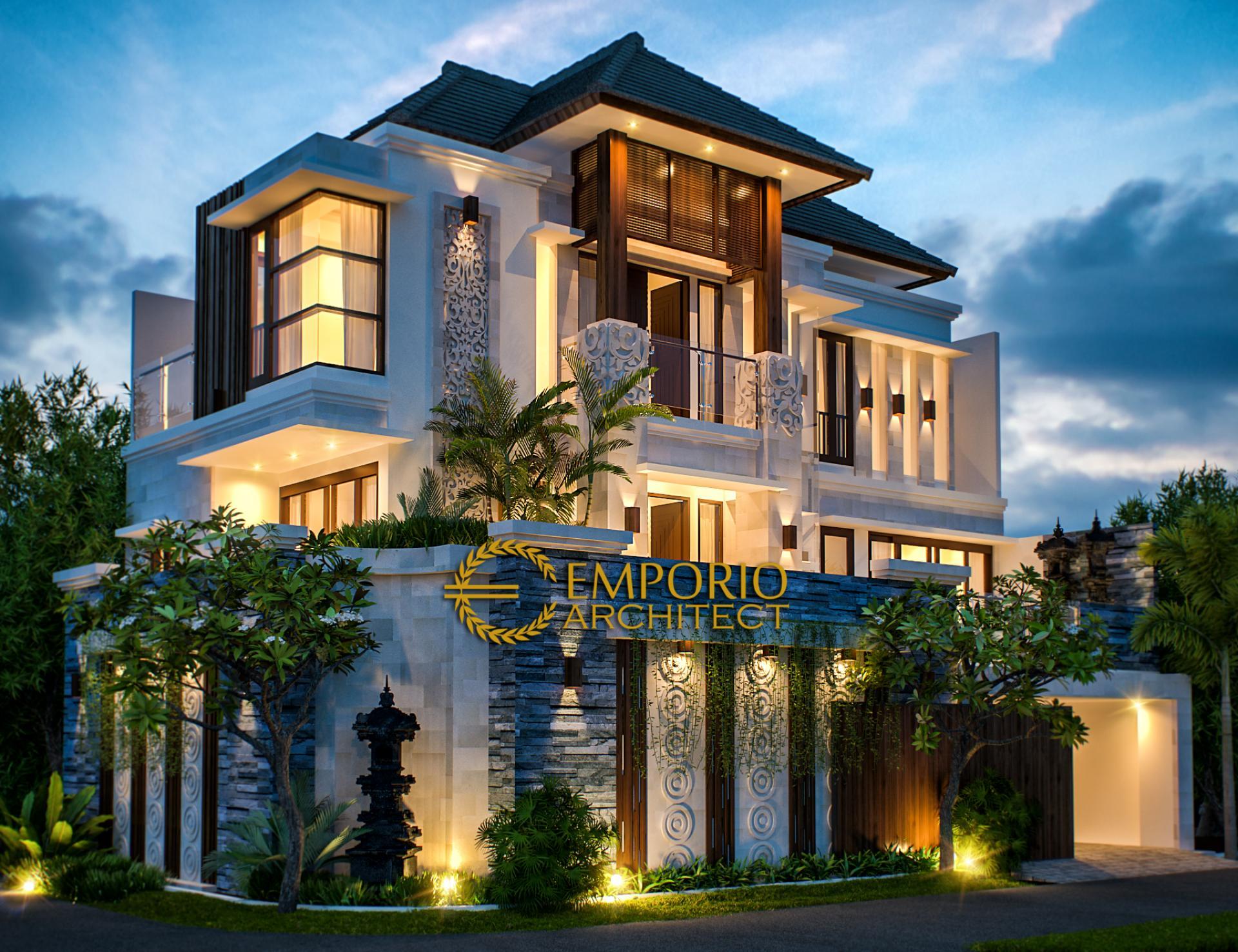 Desain Rumah Villa Bali 3 Lantai Bapak Adi di  Tabanan, Bali