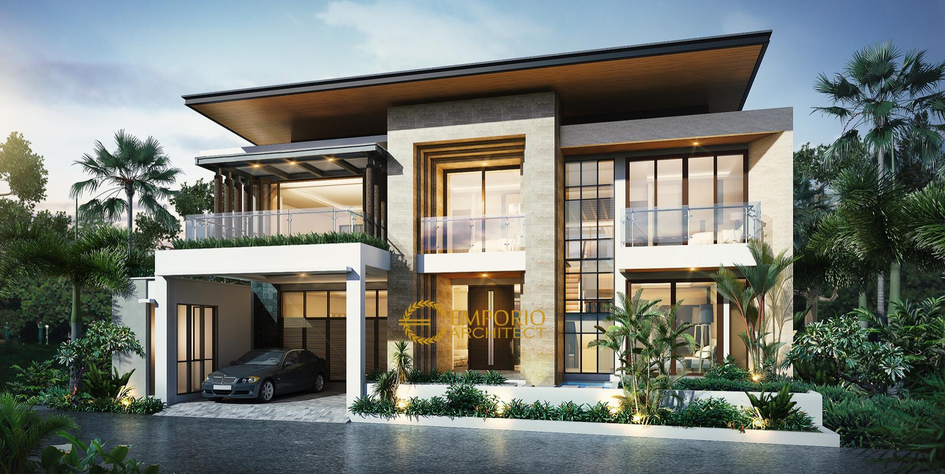 Mr. Ahdianto Modern House 2 Floors Design - Jakarta