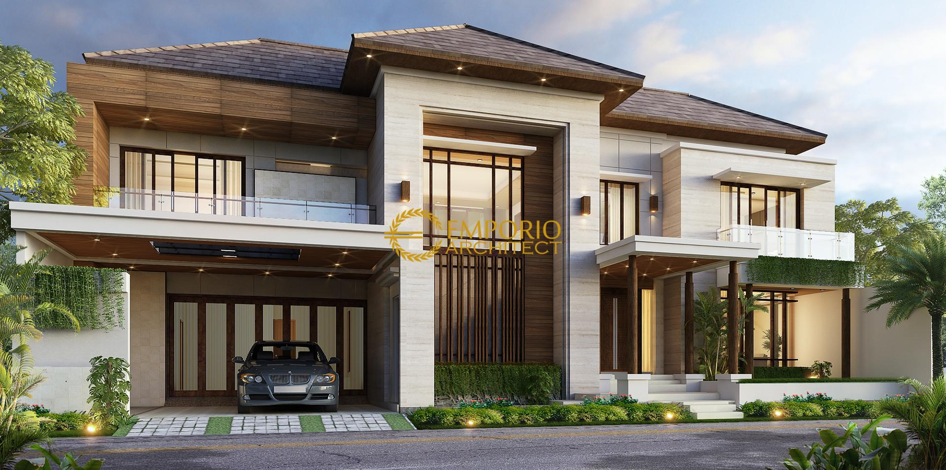 Mr. Anthon Modern House 2 Floors Design - Jakarta