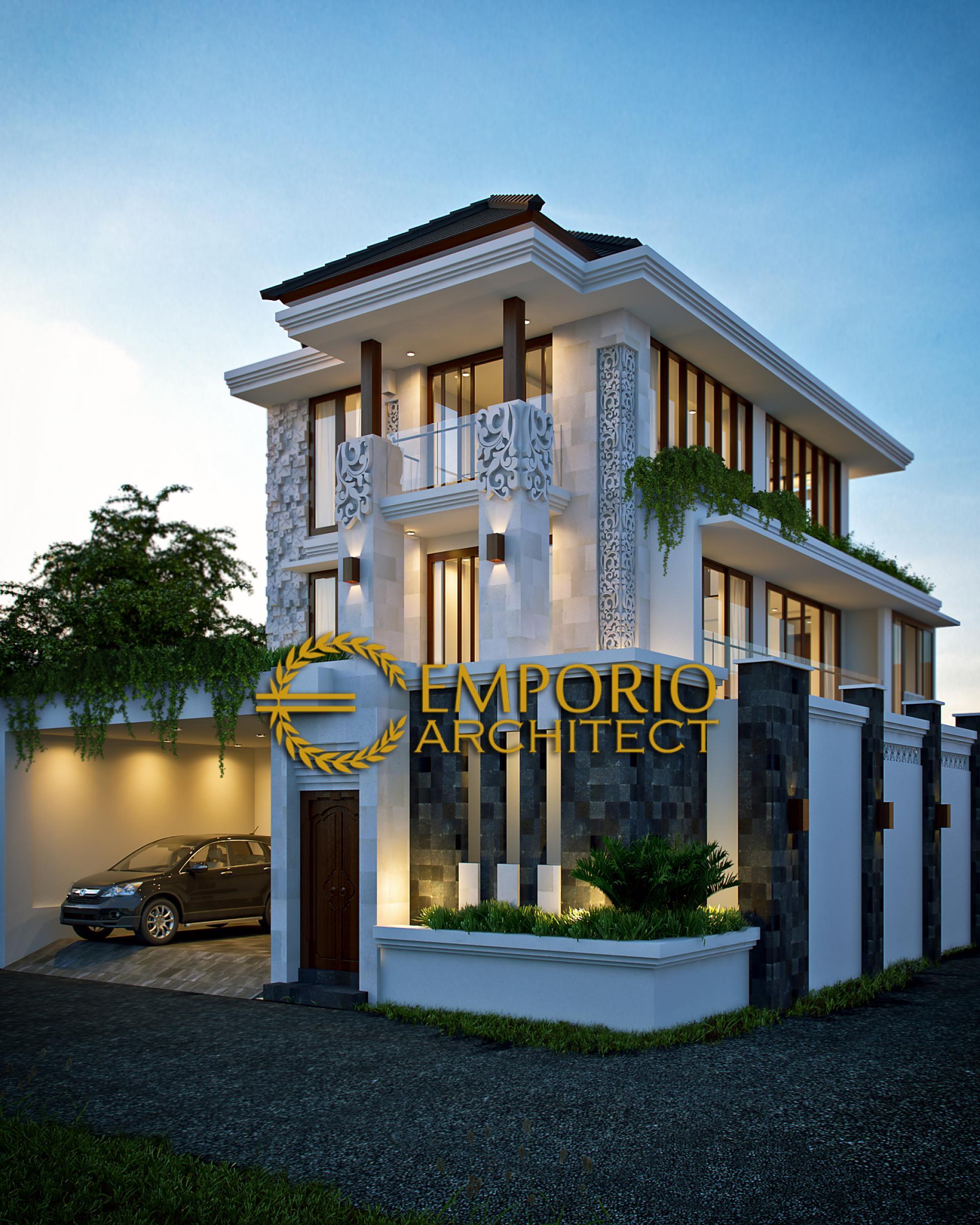 Mr. Fahmi Villa Bali House 3 Floors Design - Jakarta