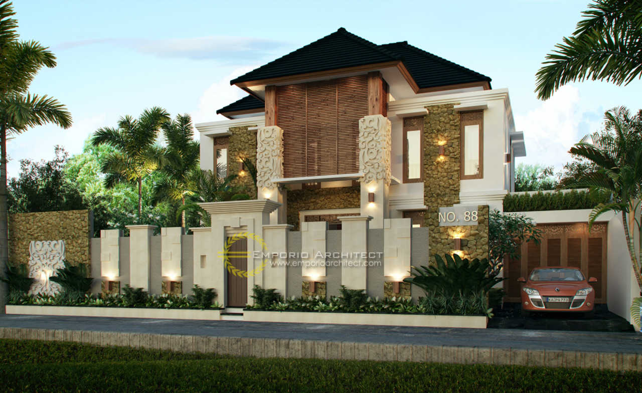 44 Gambar Rumah Arsitektur Bali Gratis Terbaru