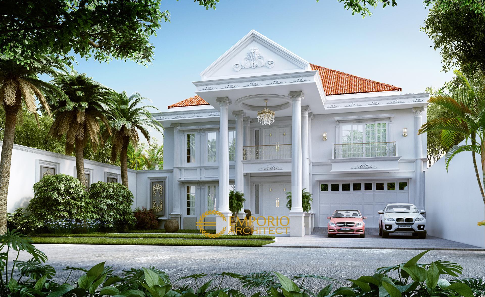 Desain Rumah Classic 2 Lantai Bapak Tono di  Serang, Banten