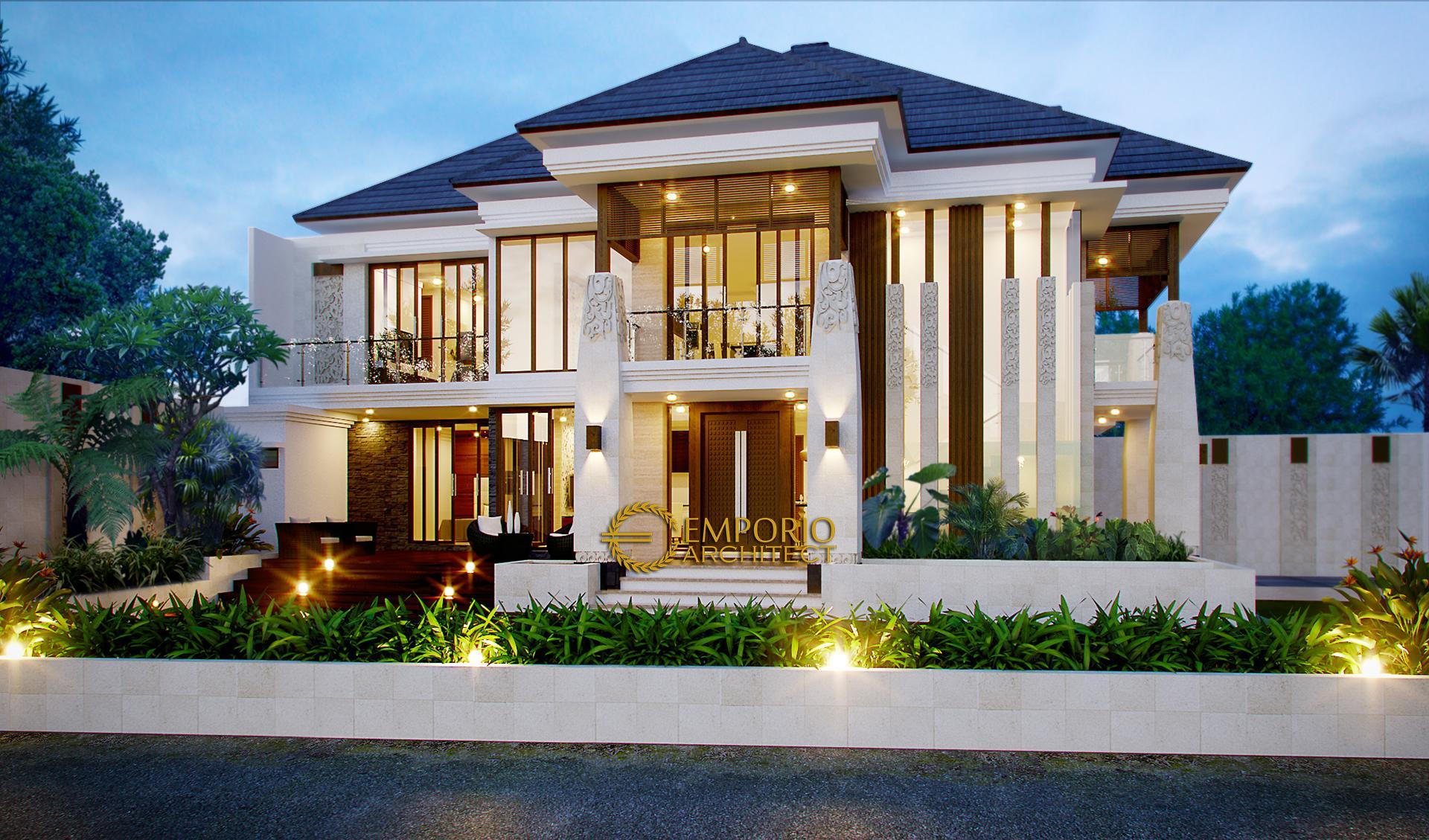 Mrs. Dewi Villa Bali House 2 Floors Design - Jakarta Selatan