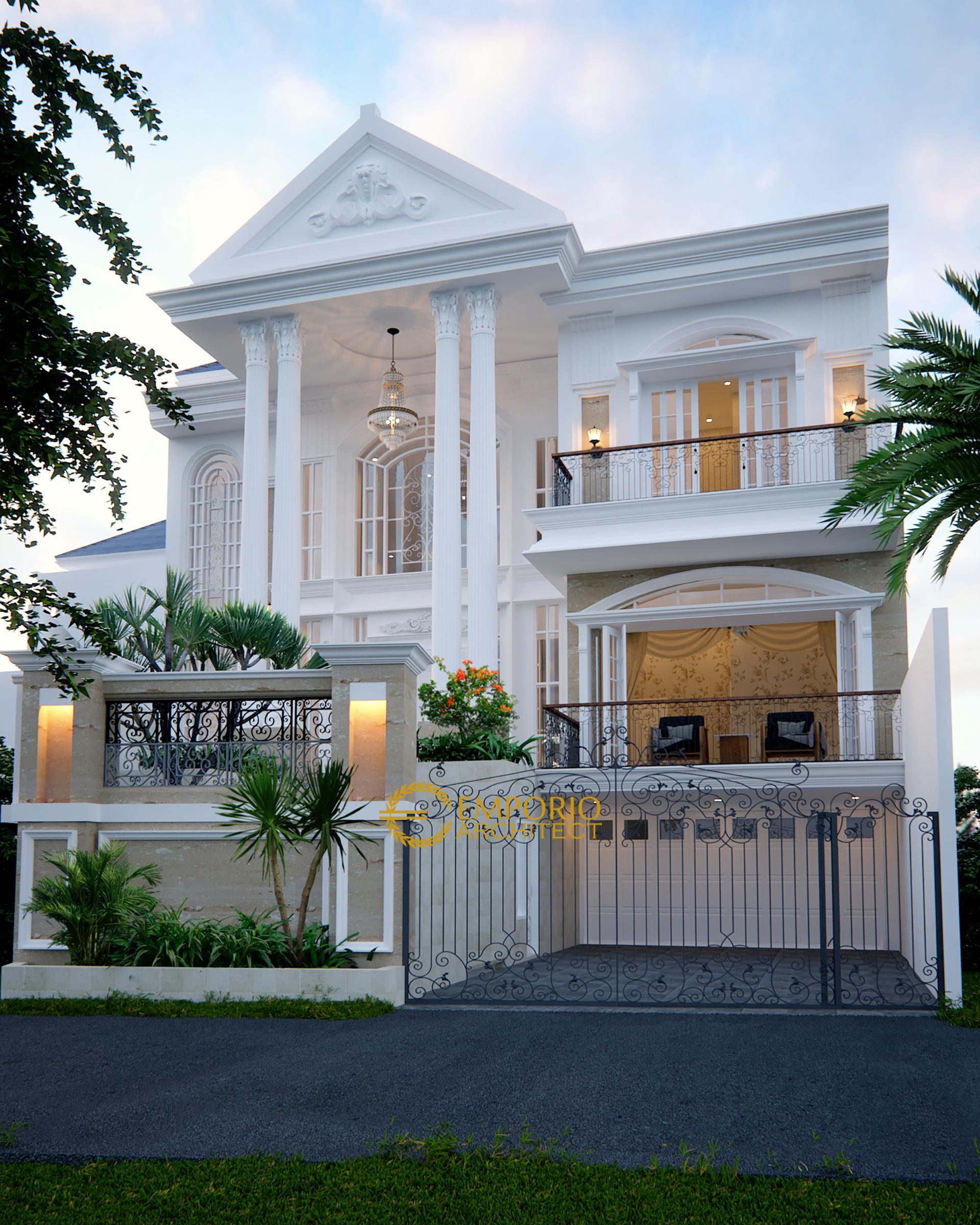 Mrs. Endang Classic House 2 Floors Design - Cibubur, Jakarta