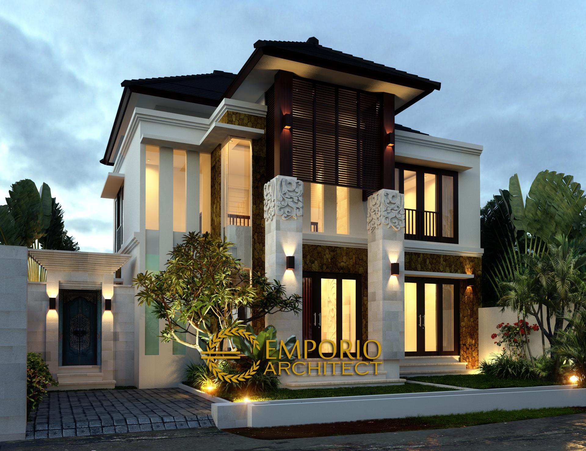 Desain Rumah Villa Bali 2 Lantai Ibu Ketut Maryani di  Tegal Cupek, Kuta Utara