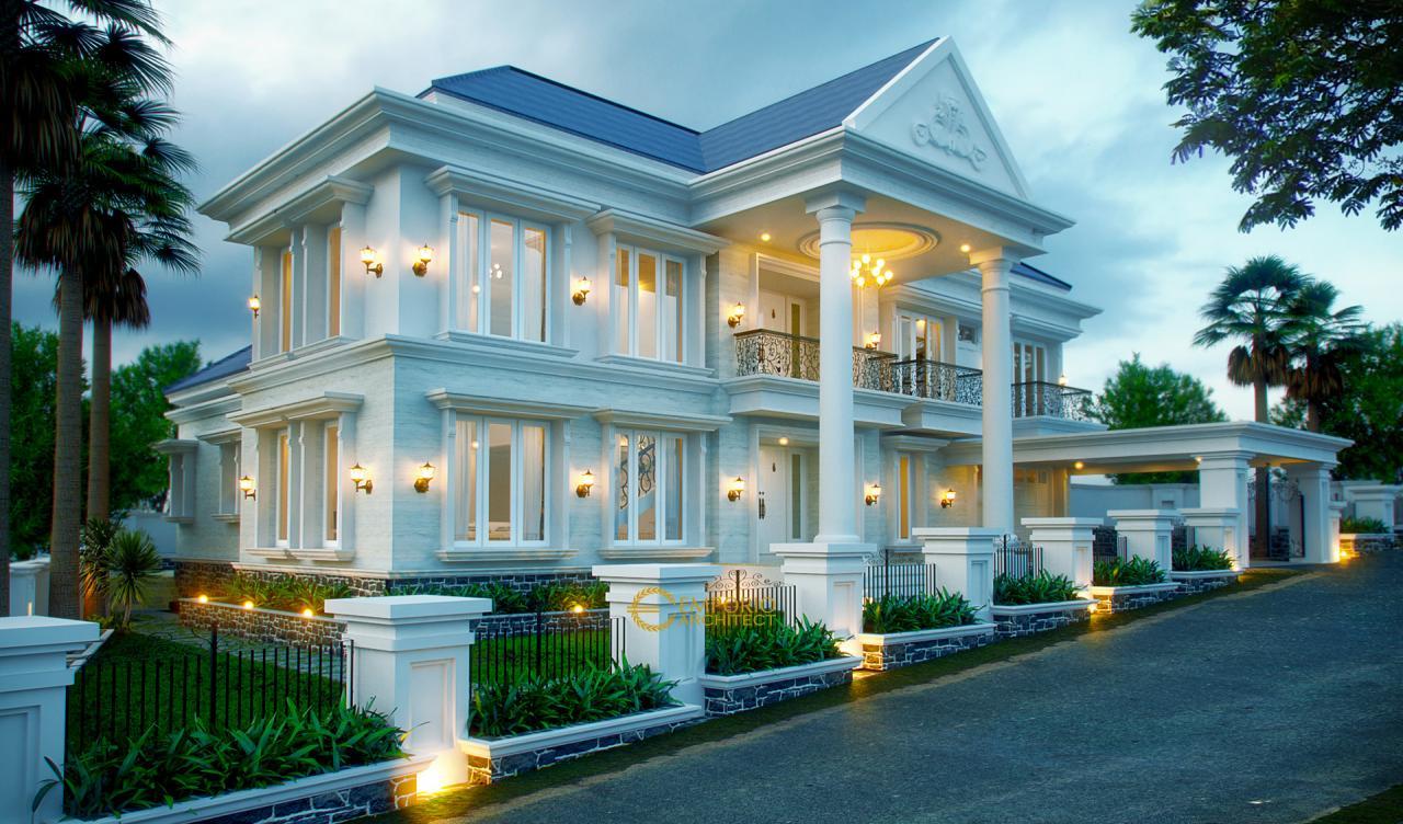 Desain Rumah Klasik Yang Megah Dan Menawan