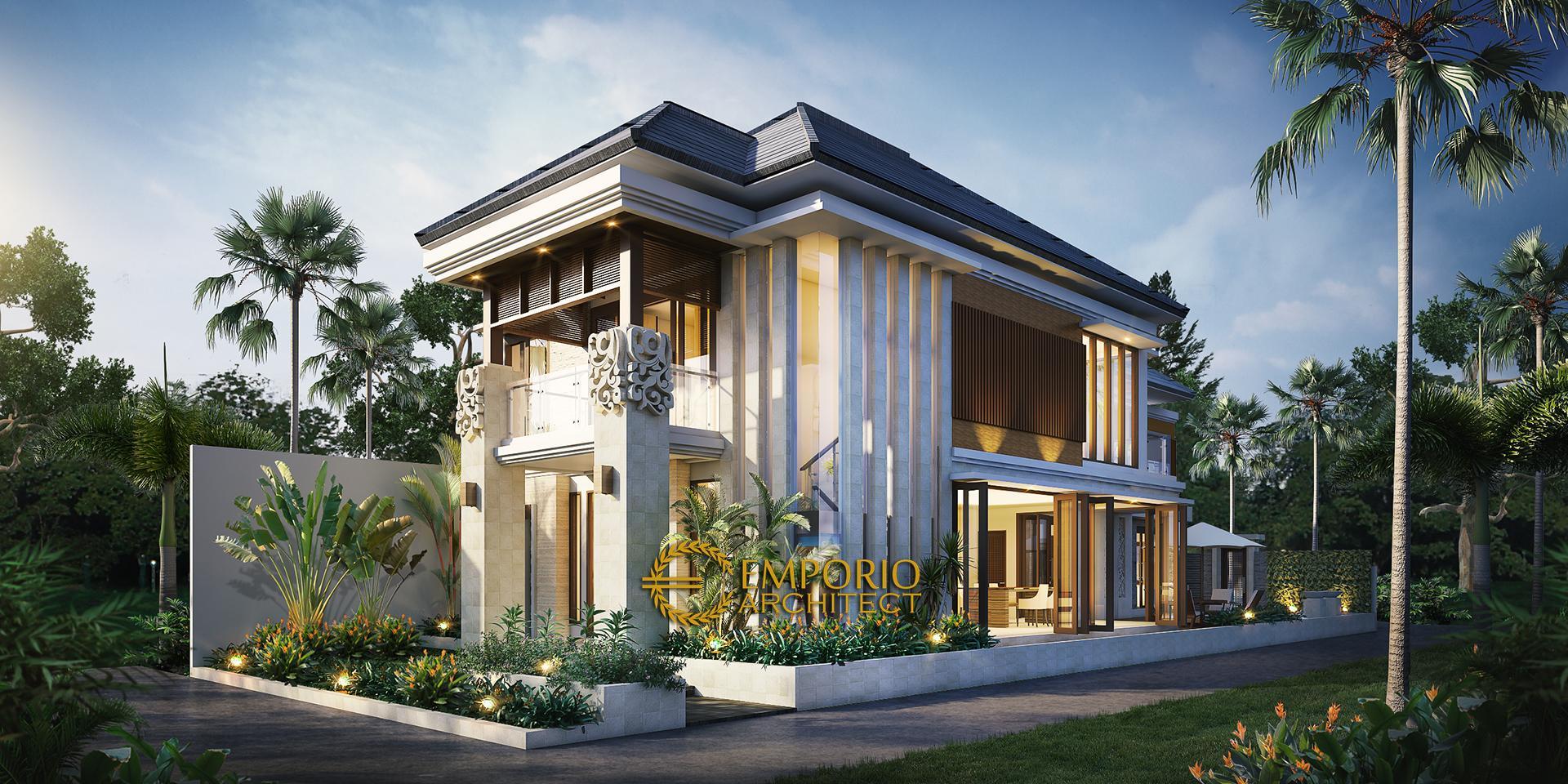 Mrs. Uum Villa Bali House 2 Floors Design - Yogyakarta