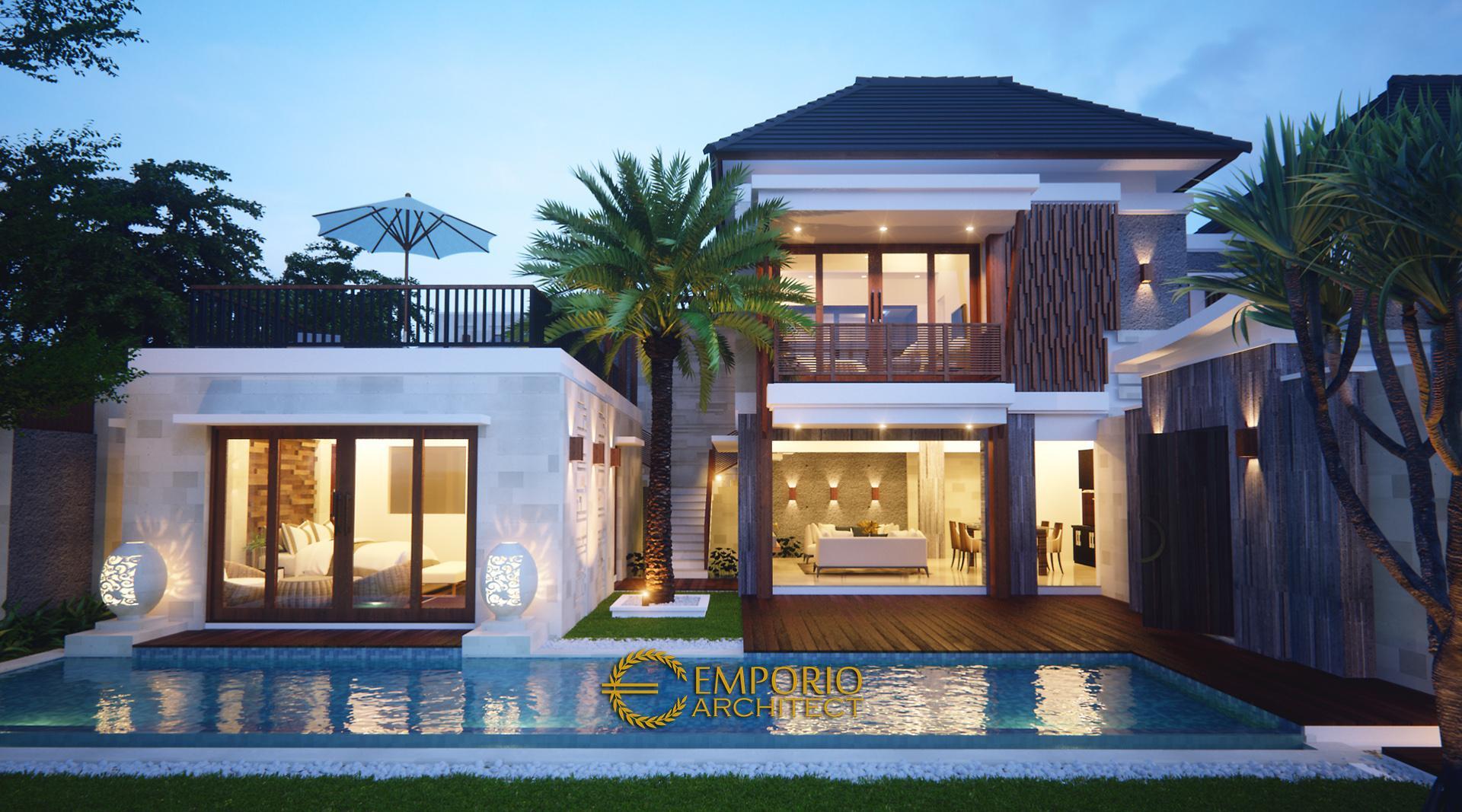 Mr. Robert Villa 2 Floors Design - Seminyak, Bali