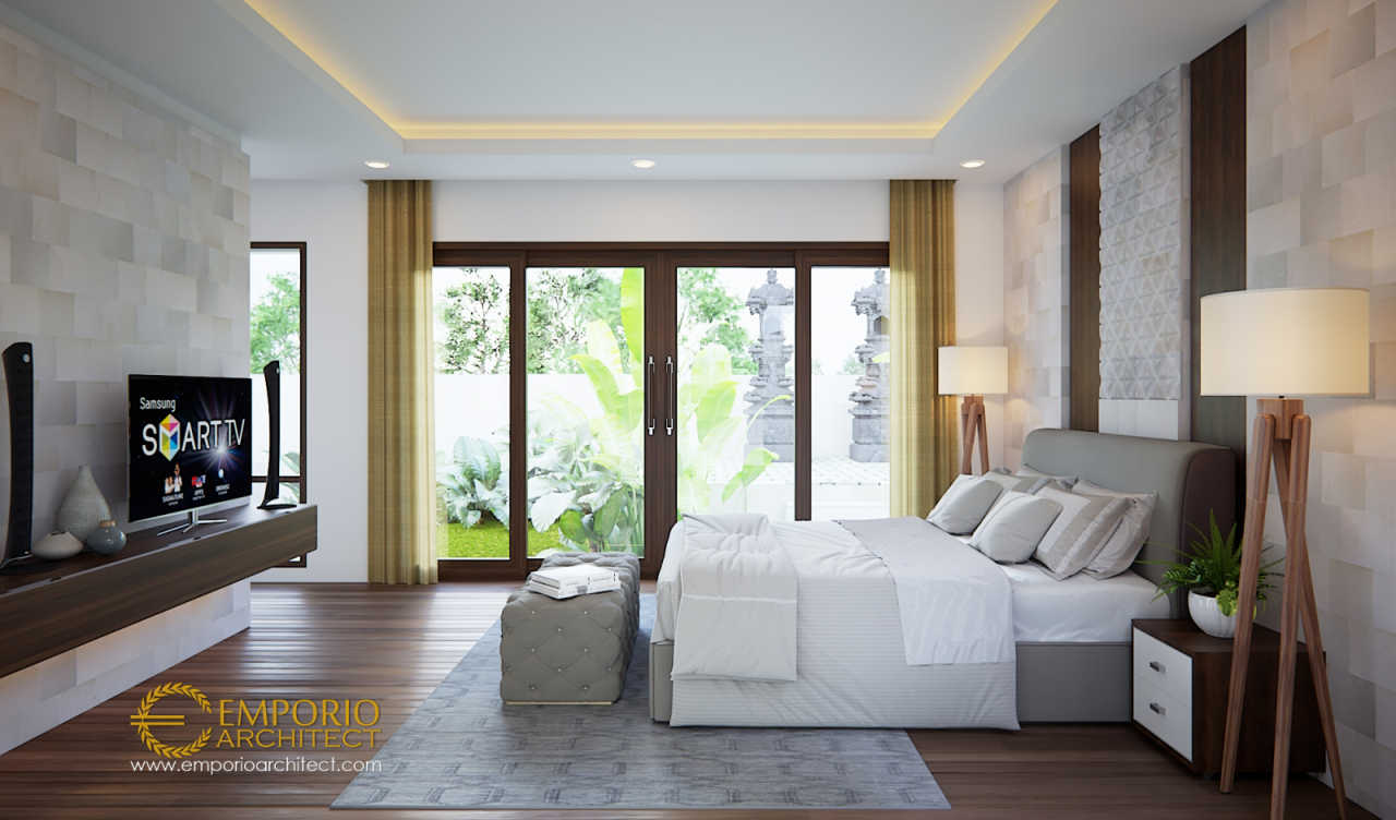 10 Desain Interior Kamar Tidur Bergaya Villa Bali Dengan ...