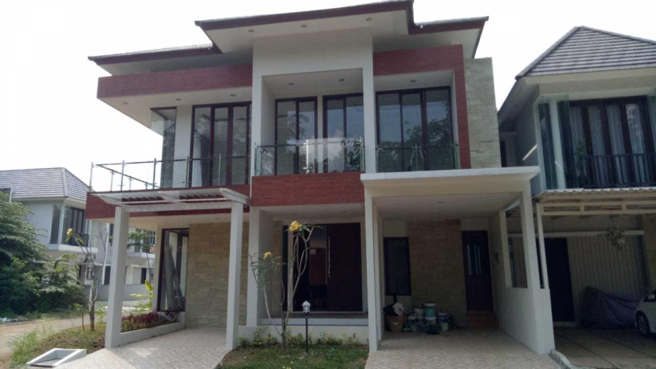 Hasil Konstruksi Rumah Ibu Tasya di  Jakarta