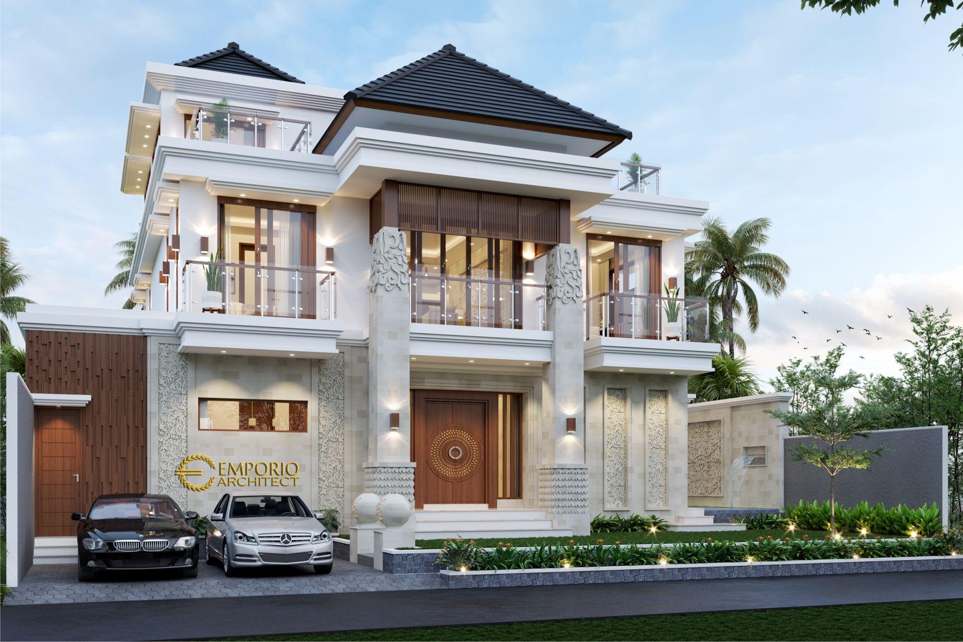 Desain Rumah Villa Bali 2 Lantai Mr Vaibhav Dan Mr Nilesh Di India