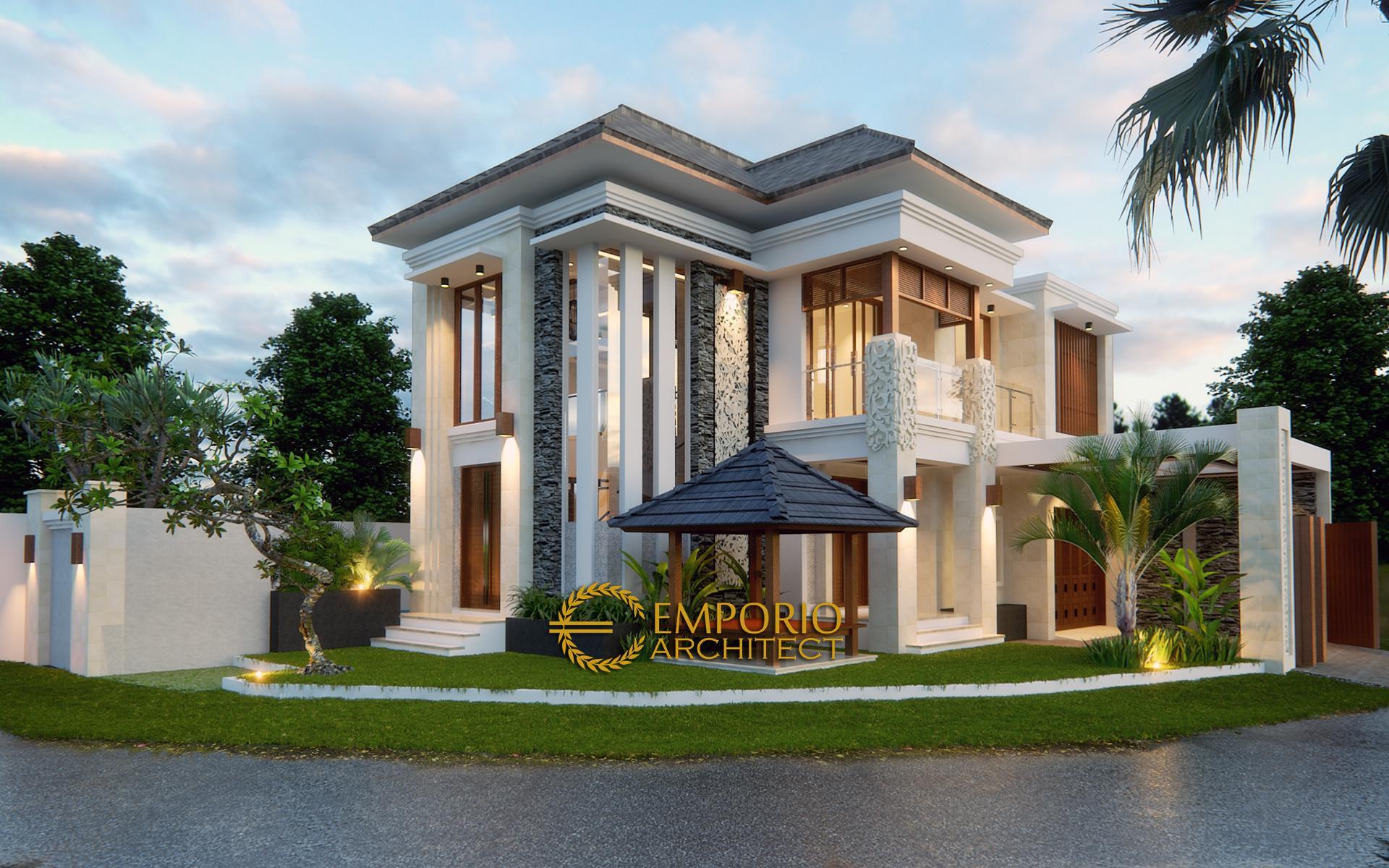 Mr. Adit Brata Villa Bali House 2 Floors Design II - Jakarta