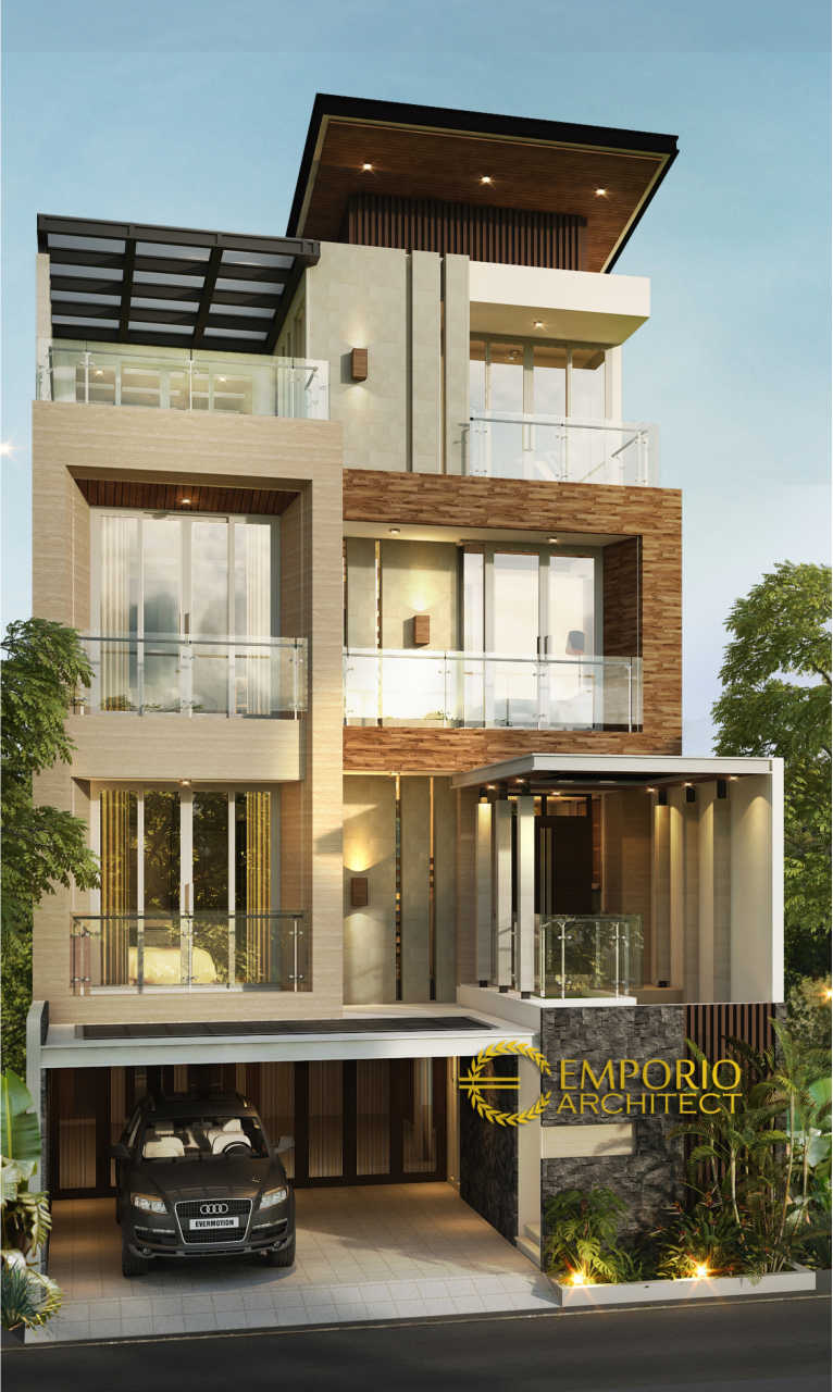 5 Desain Rumah Minimalis Terbaik Pada Lebar Lahan 9 Meter