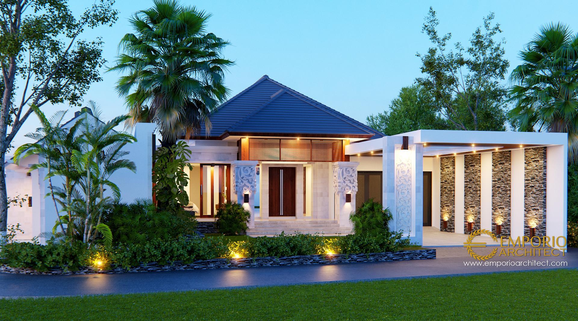Mr Arnold Villa Bali House 1 Floor Design Jakarta