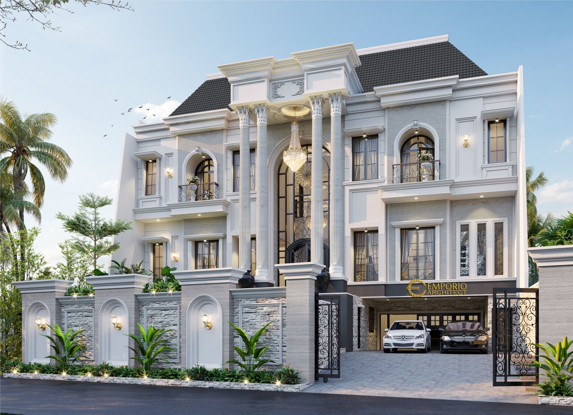 Permalink to √ Top 16+ Contoh Istimewa Rumah Klasik Modern 3 Lantai