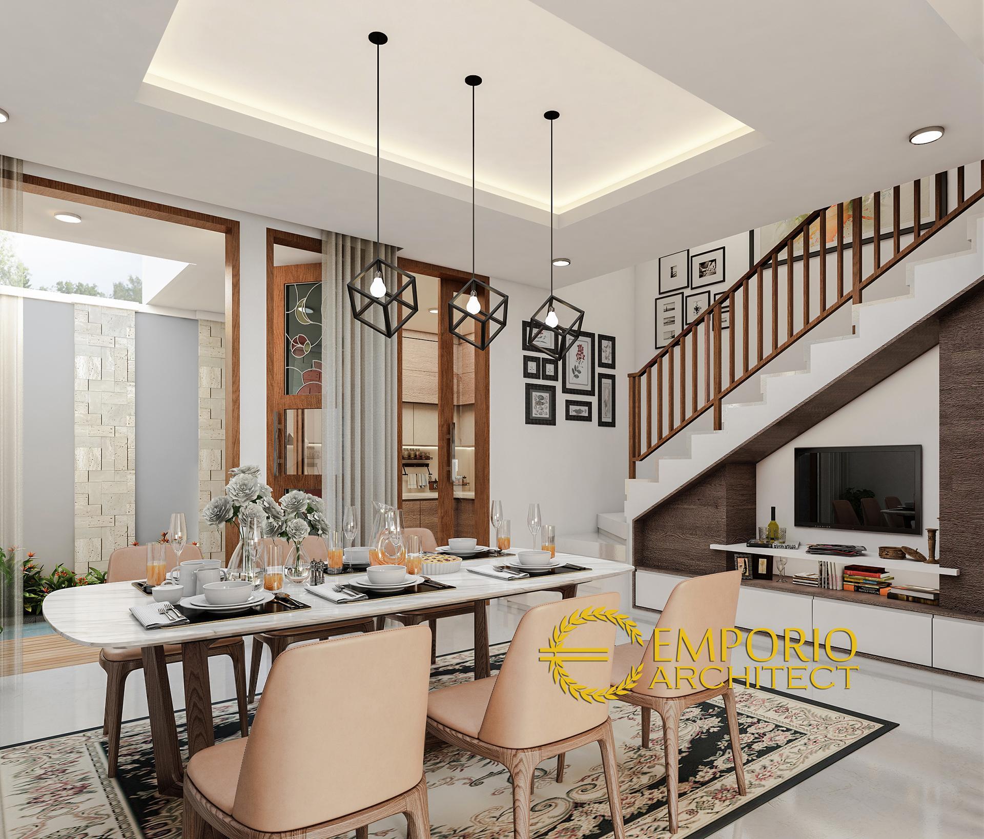 Design Rumah Tropis: Desain Rumah Modern 2 Lantai Ibu Poppy Di Jakarta Selatan