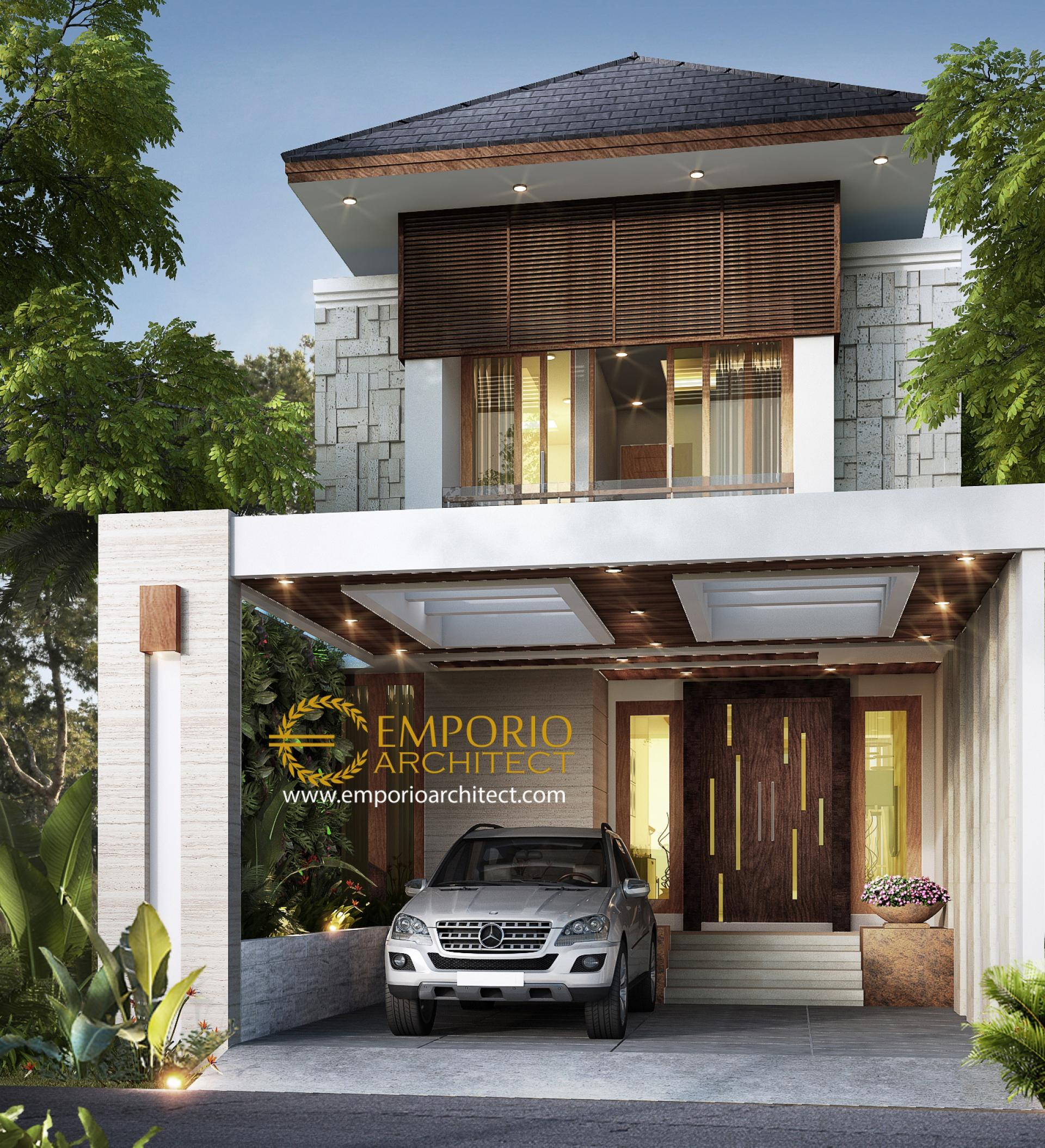 Mrs. Wulan Villa Bali House 2 Floors Design - Jakarta