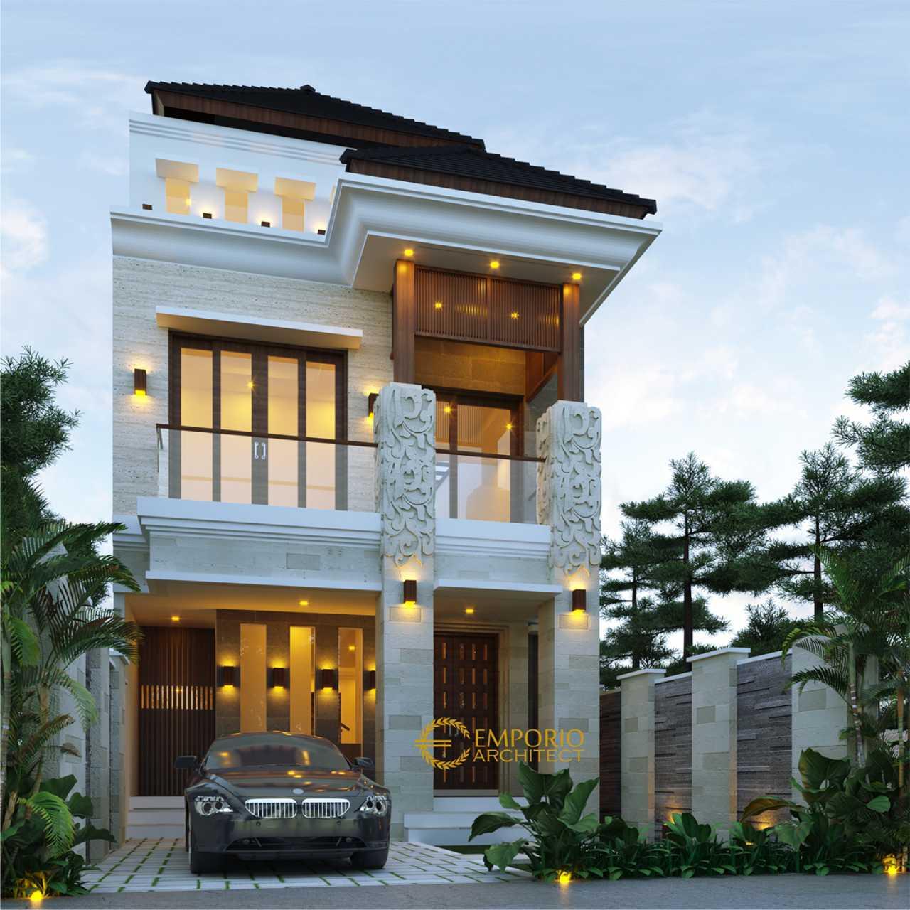 Desain Rumah Villa Bali 3 Lantai Bapak Naufal Di Jakarta