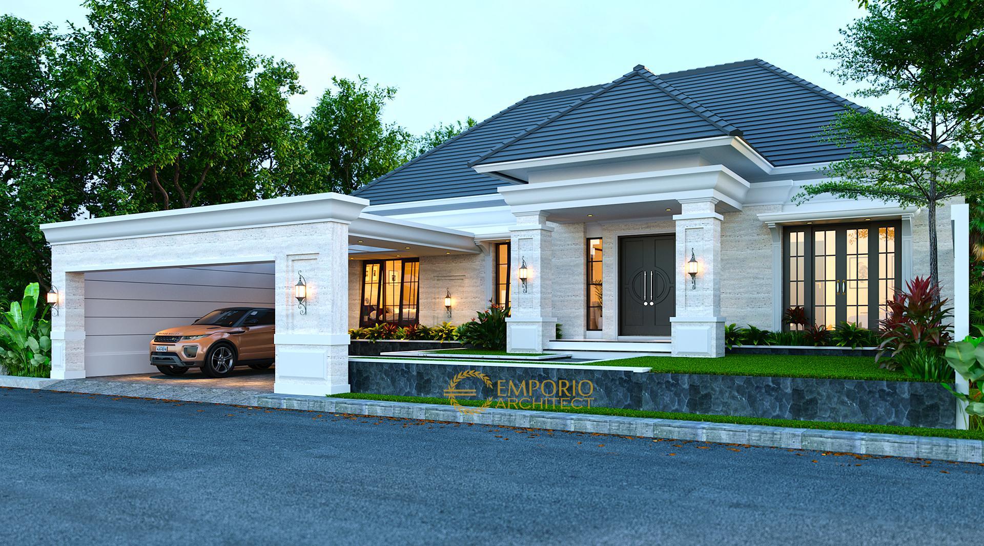 Desain Rumah Classic 1 Lantai Bapak Arip Di Magetan, Jawa Timur