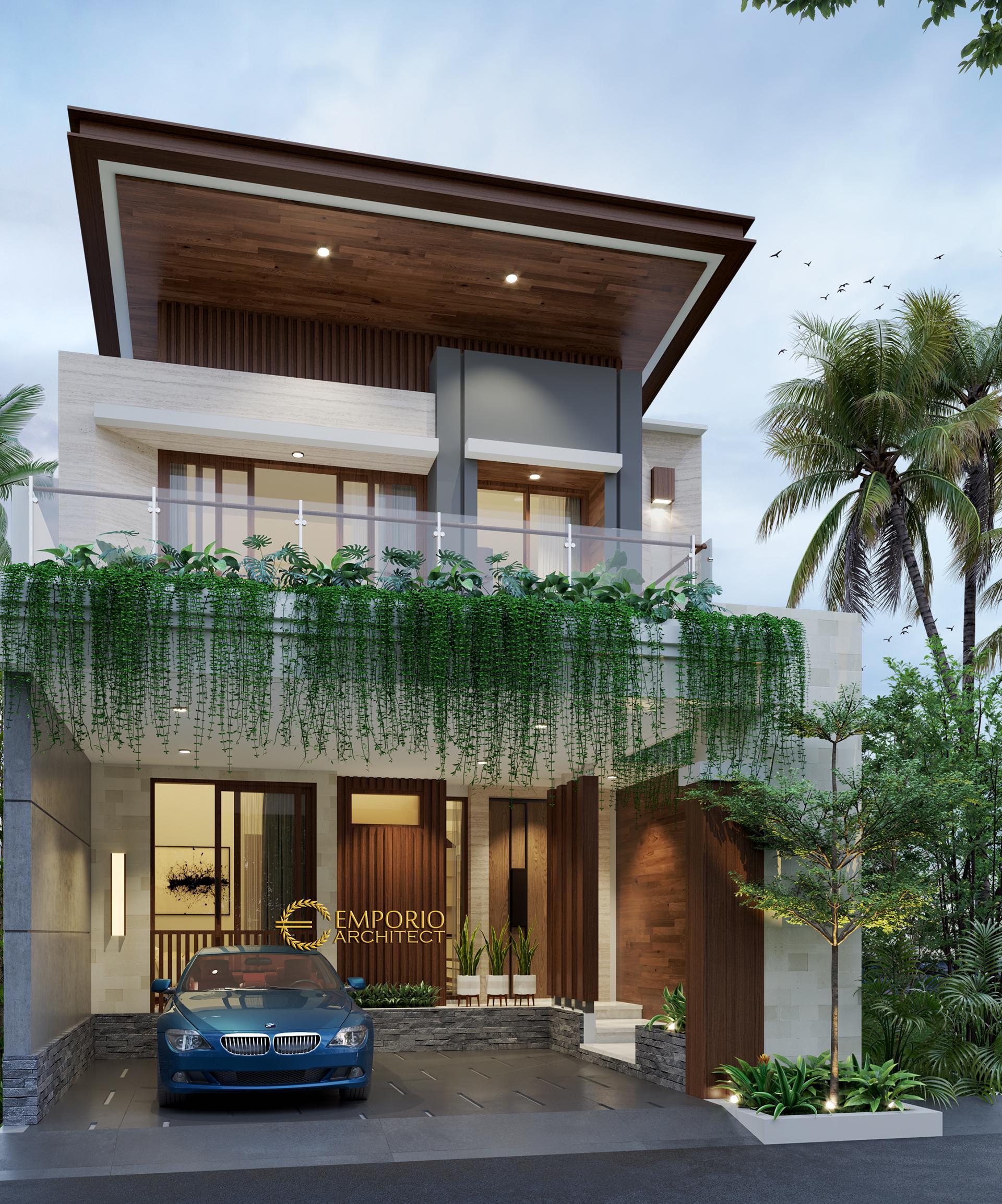 Mr. Adam Modern House 3 Floors Design -Serpong, Banten
