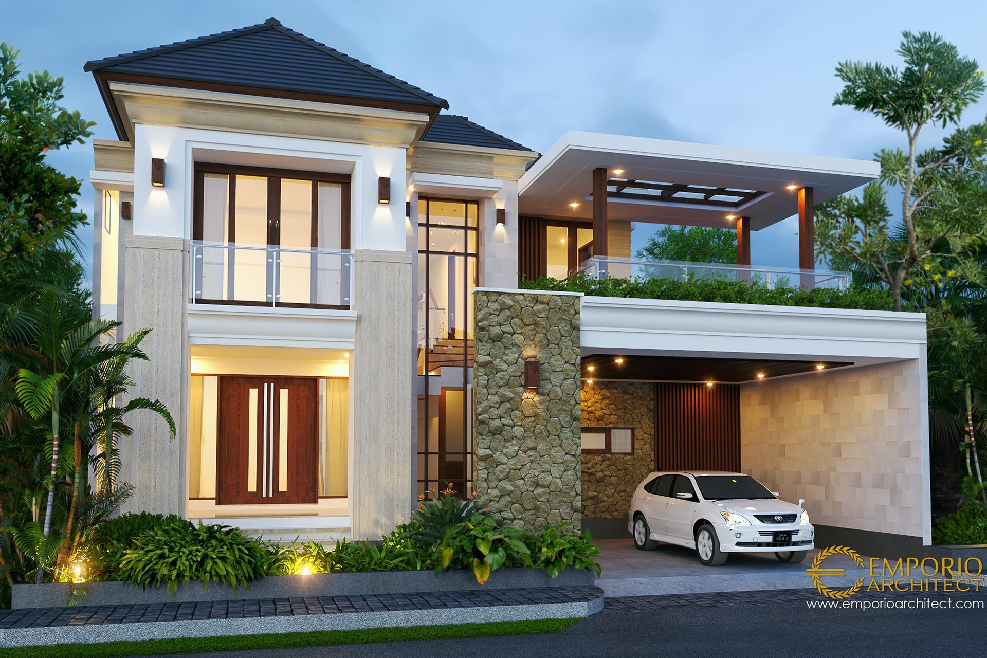 Desain Rumah Villa Bali 2 Lantai Bapak Hasyim di  Singaraja, Bali