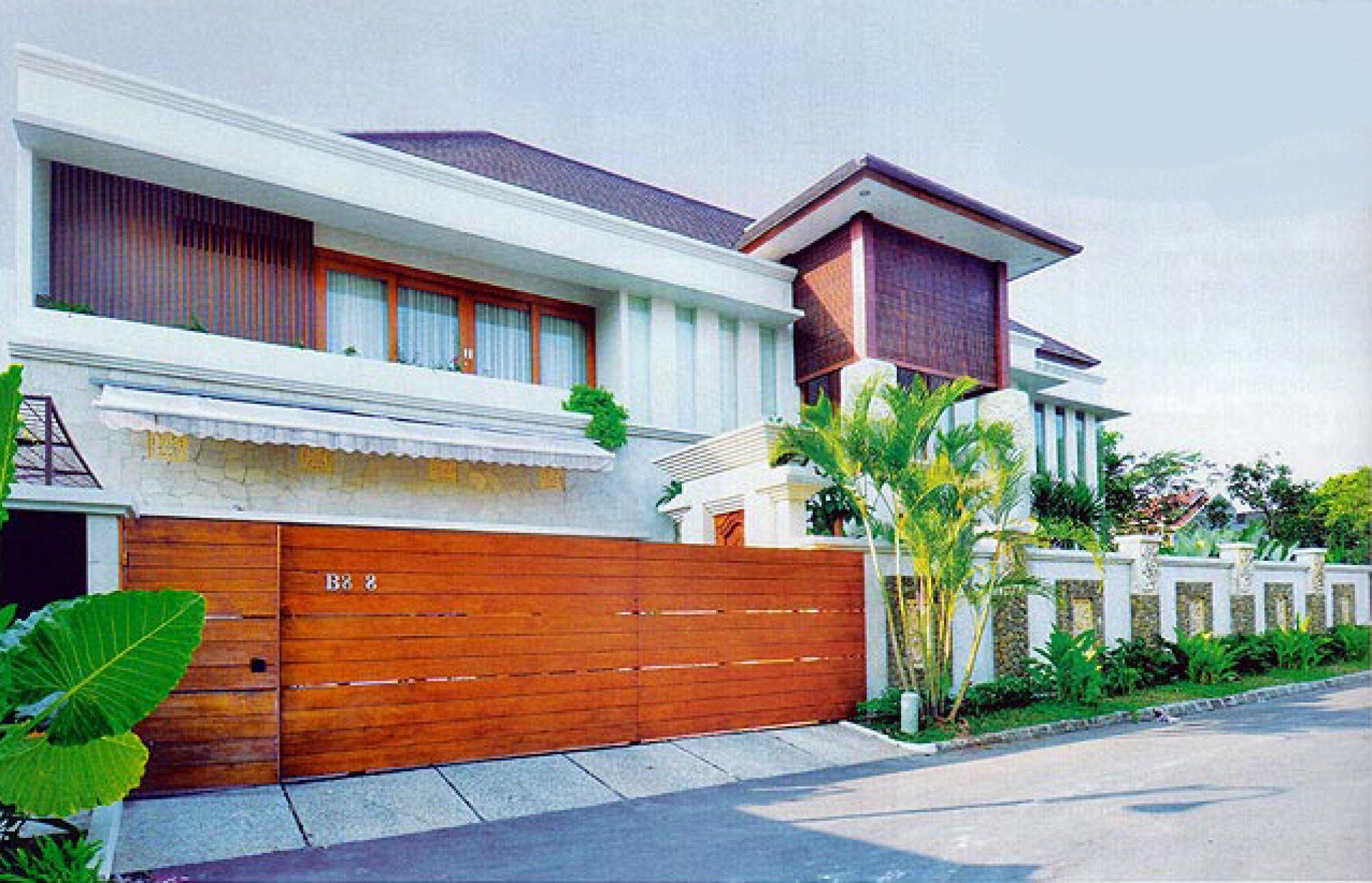 Hasil Konstruksi Rumah Bapak Frans di  Jakarta