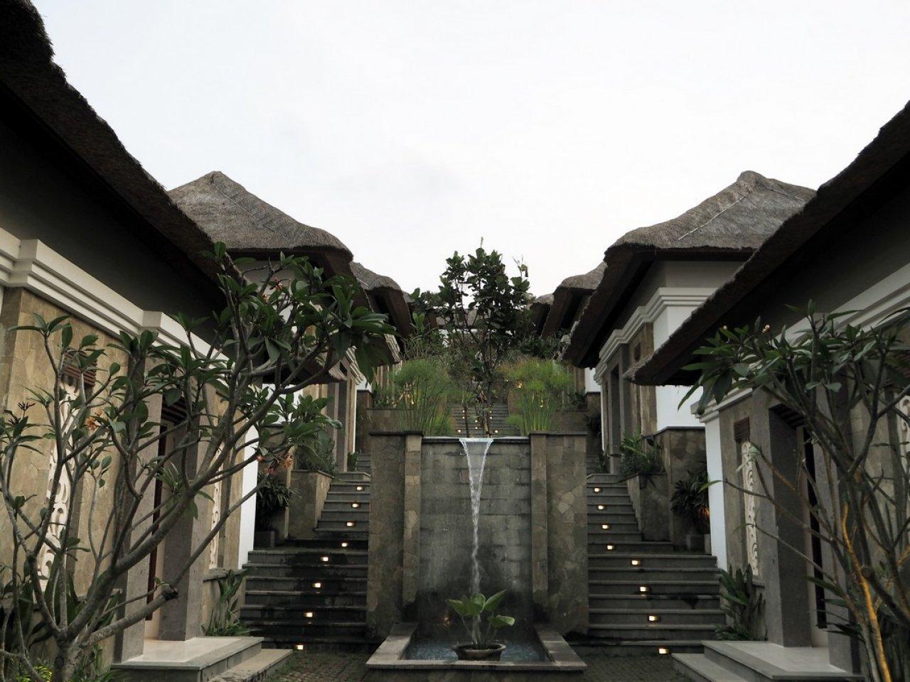 Hasil Konstruksi Zen Spa di  Nusa Dua, Bali