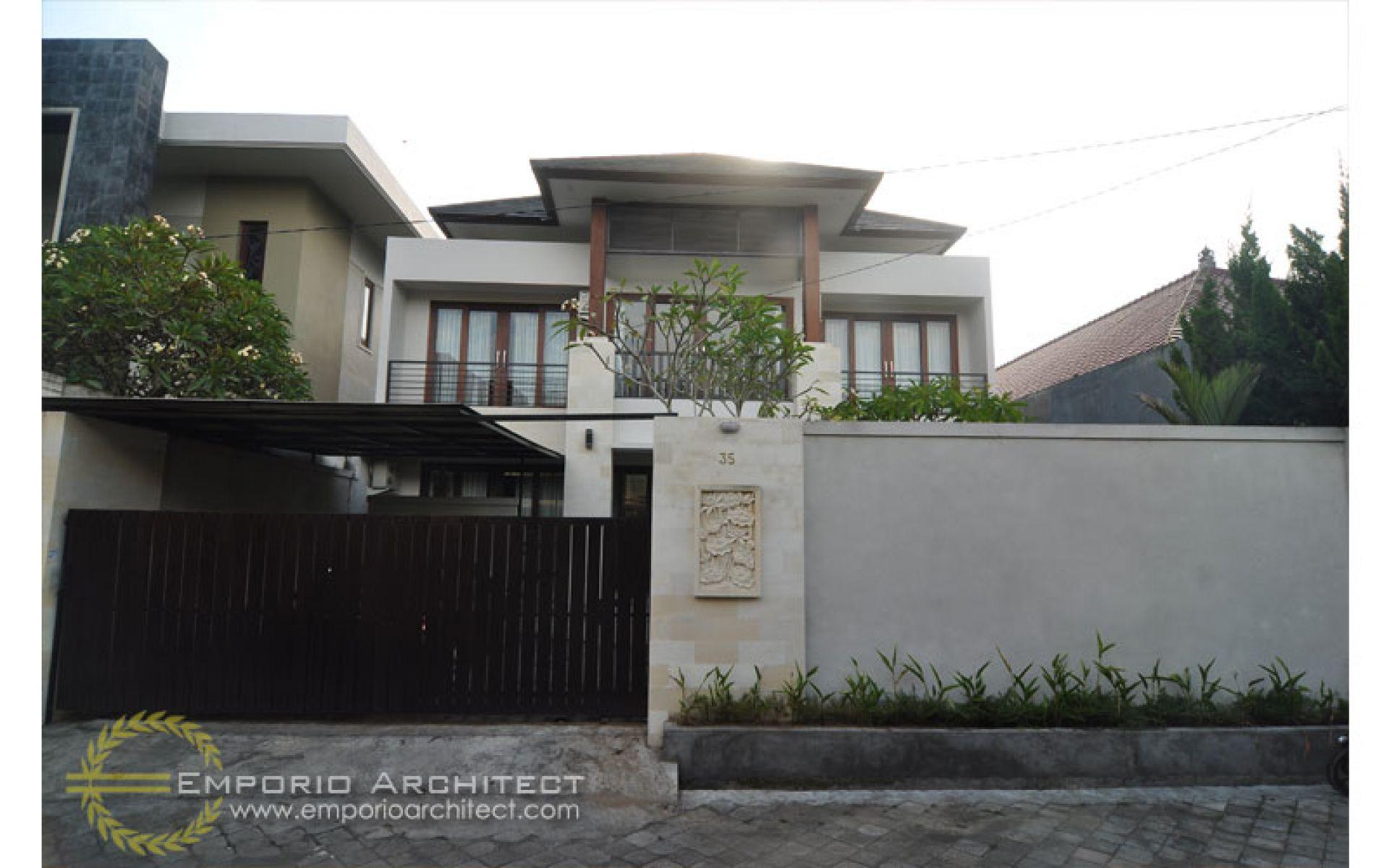 Hasil Konstruksi Rumah Dr. Krisna di  Denpasar, Bali