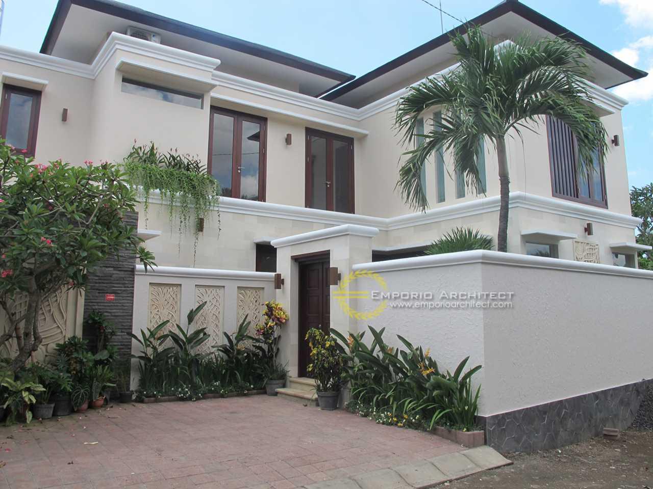 Hasil Konstruksi Villa Bapak Ishak Tayeb di  Kerobokan, Bali