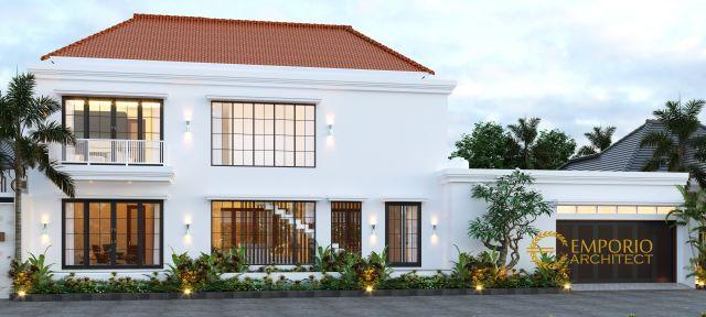 Desain American Style Luxurious Villa 2 Lantai Mr. Vinni di Kerobokan, Badung, Bali
