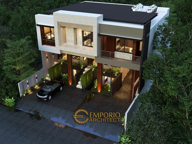 Desain Master Plan Apartemen Modern 3 Lantai Ibu Fei-Fei di Bandung, Jawa Barat