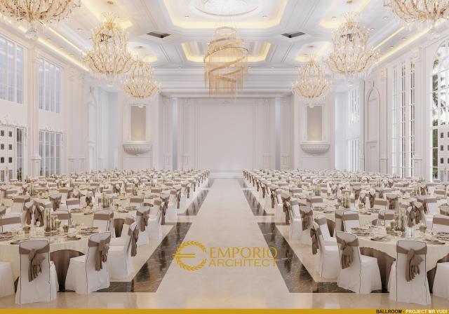 Desain Ballroom Convention Hall Classic 2 Lantai Bapak Yudi di Jambi