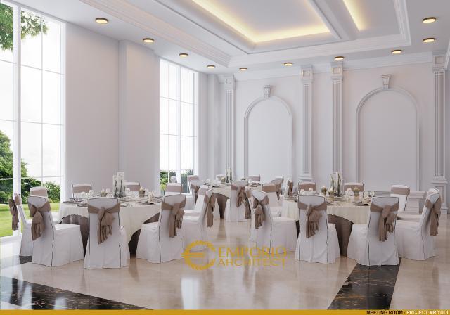 Desain Meeting Room Convention Hall Classic 2 Lantai Bapak Yudi di Jambi
