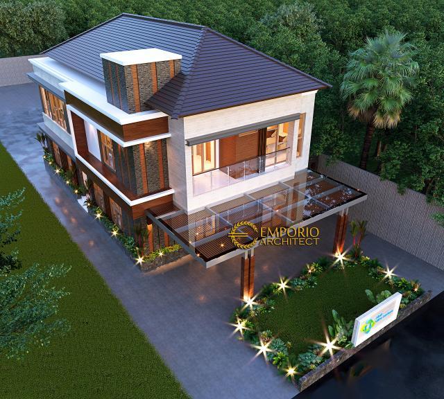Desain Master Plan Klinik Mitra Santosa Modern 2 Lantai di Bandung, Jawa Barat
