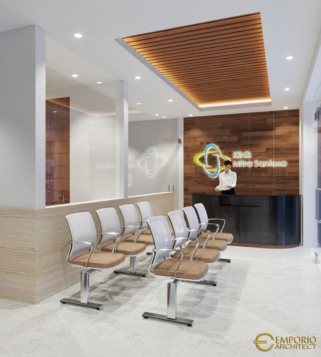 Desain Interior Klinik Mitra Santosa Modern 2 Lantai di Bandung, Jawa Barat