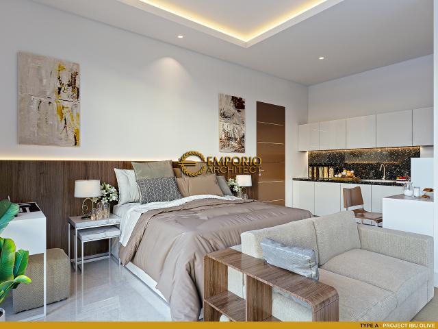 Desain Kamar Tidur Type A Kost Villa Bali 2 Lantai Ibu Olive di Bali