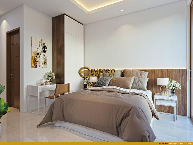 Desain Kamar Tidur Type B Kost Villa Bali 2 Lantai Ibu Olive di Bali