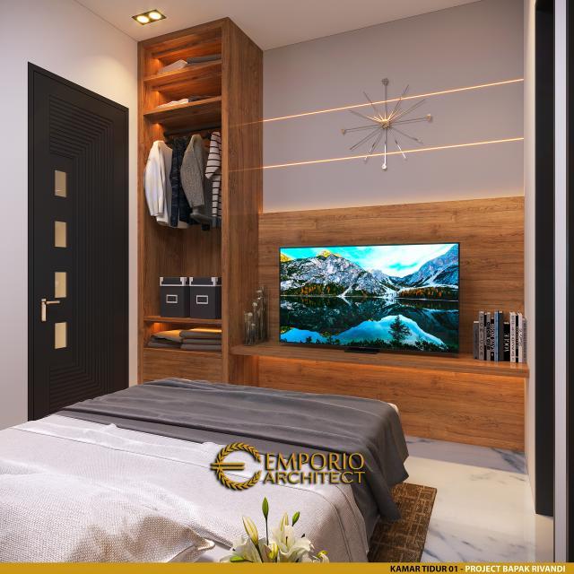 Desain Kamar Tidur 1 Kost Villa Bali 3 Lantai Bapak dr. Rivandi di Bali