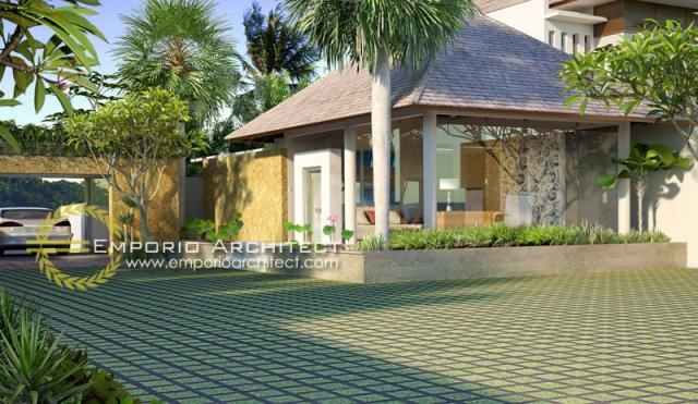 Desain Exterior 2 Perumahan Villa Bali 2 Lantai Lestari Living di Bali